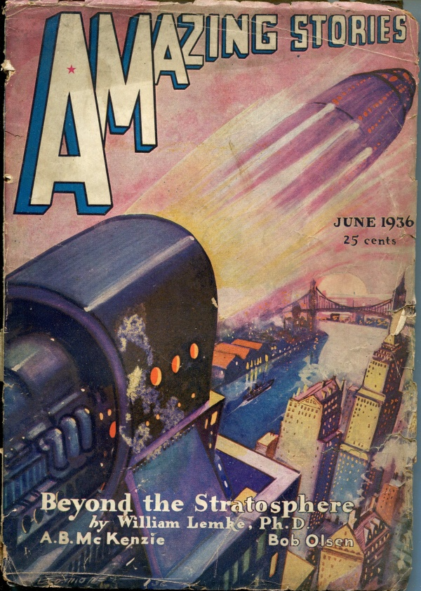 Amazing Stories June 1936