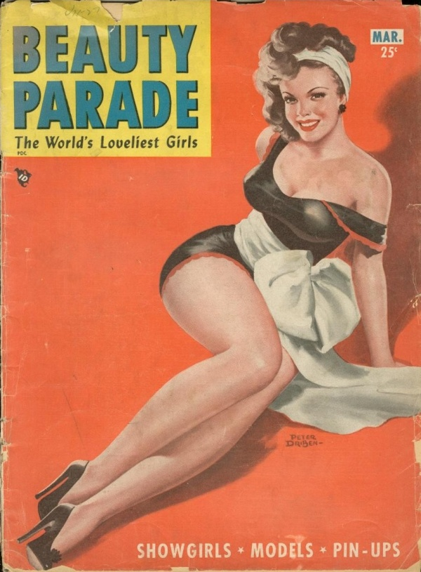 Beauty Parade #4    March 1954