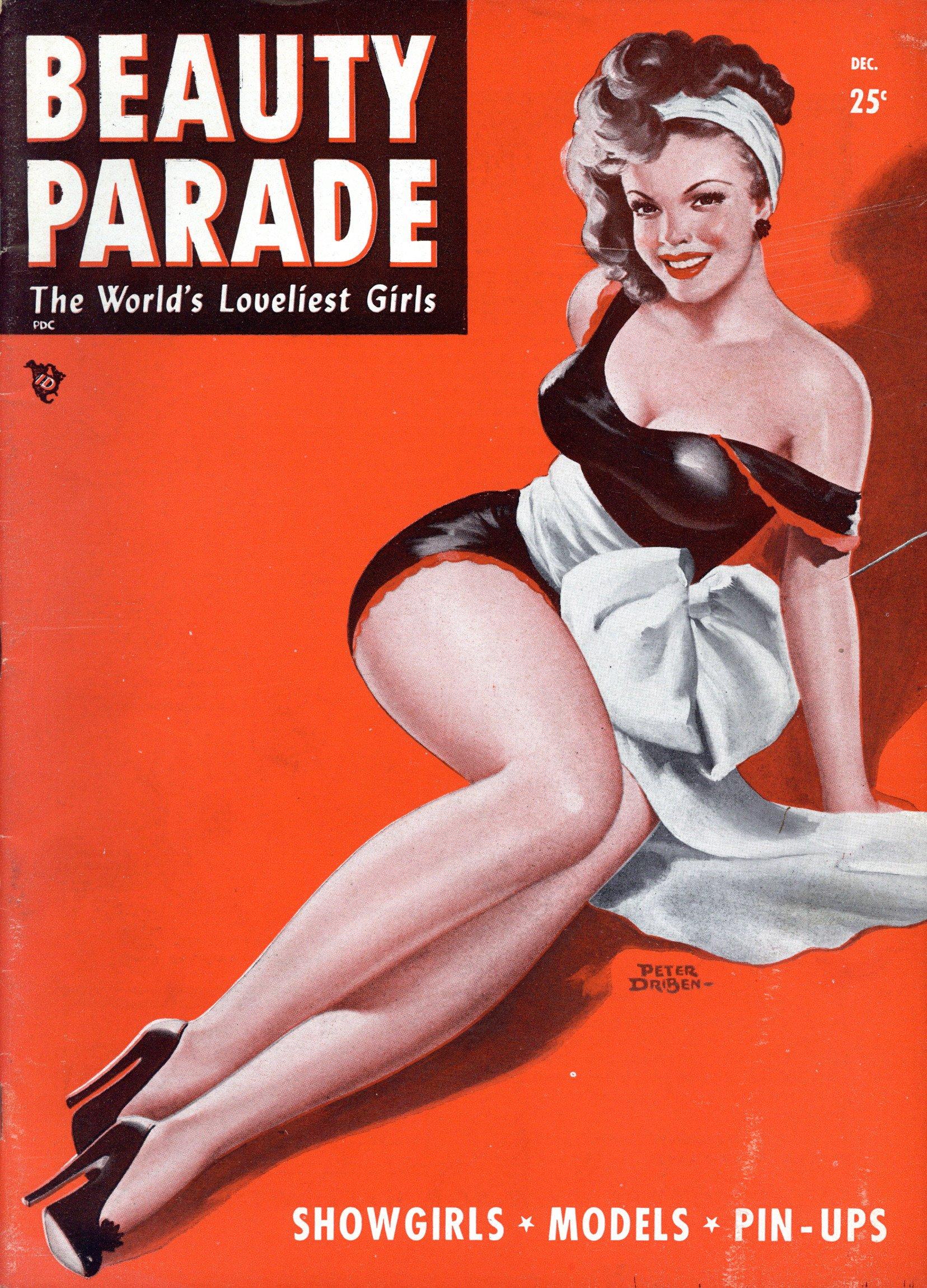 Beauty Parade December 1948