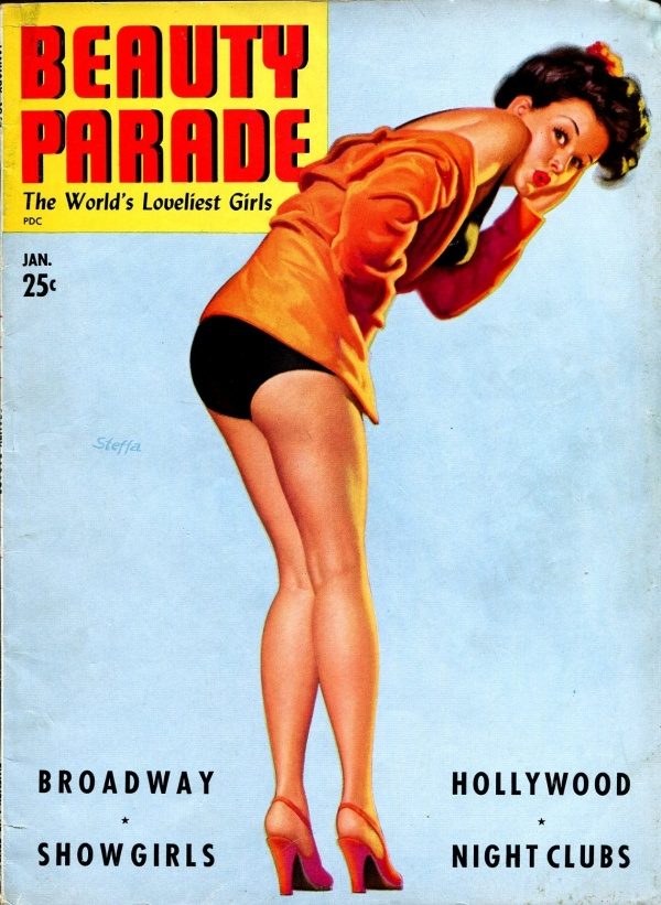 Beauty Parade Issue #6 January 1943