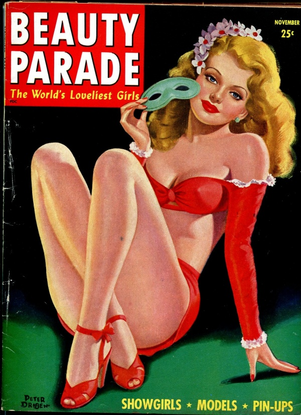 Beauty Parade November 1945