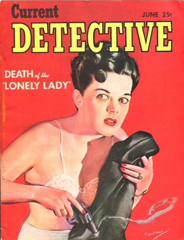 Current Detective June 1944