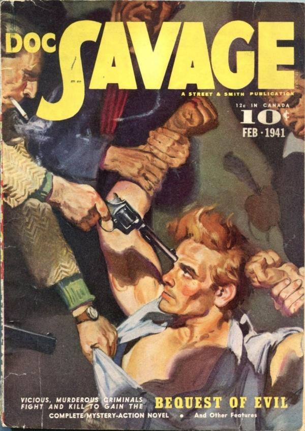 Doc Savage February 1941