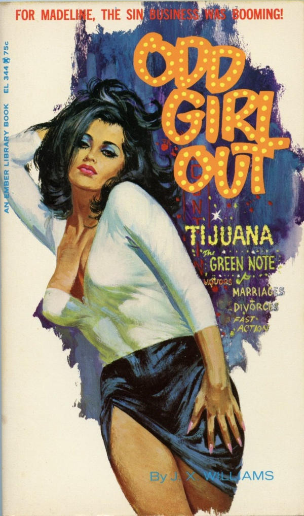 Ember Library EL 344 - Odd Girl Out (1966)