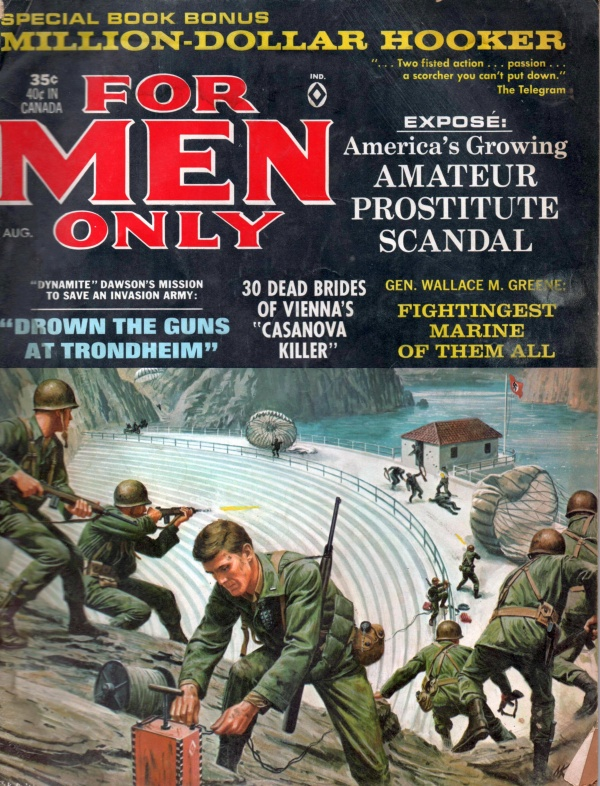 FOR MEN ONLY August 1965 12-8