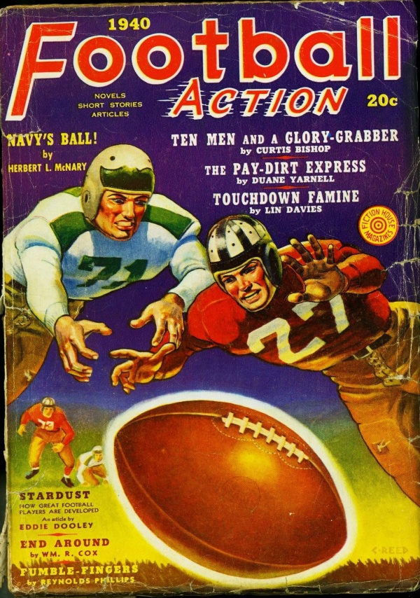 Football Action Fall 1940