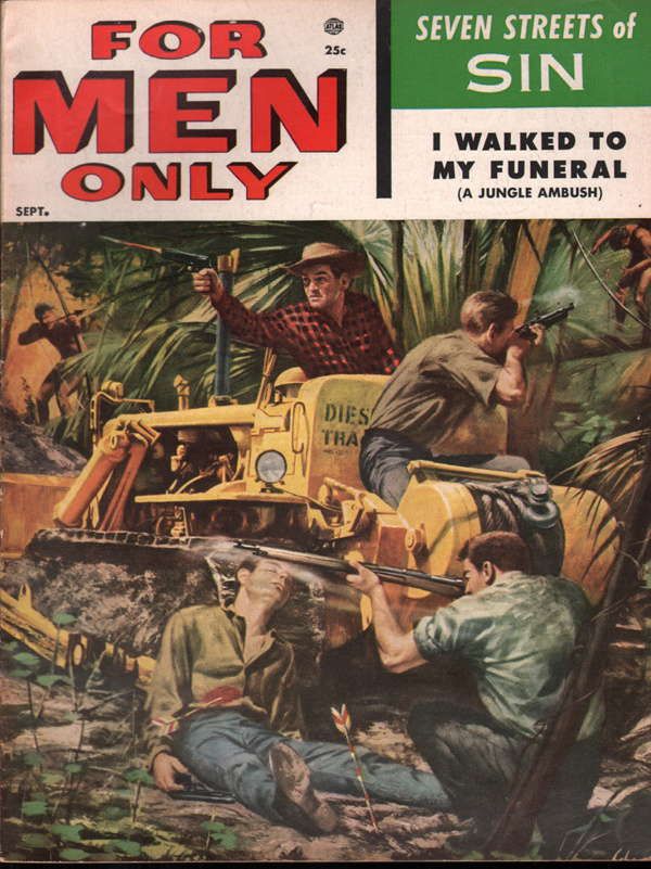 For Men Only September 1955