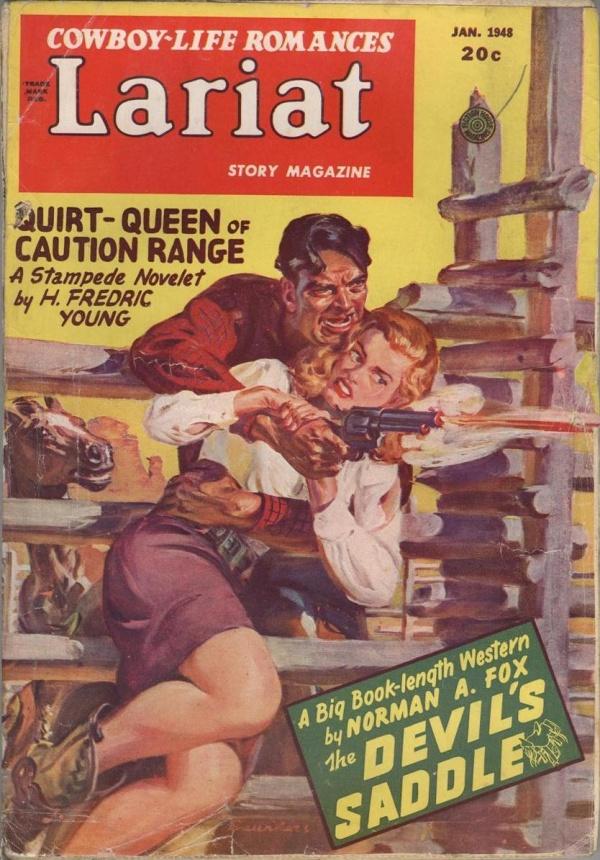Lariat Story Magazine January 1948