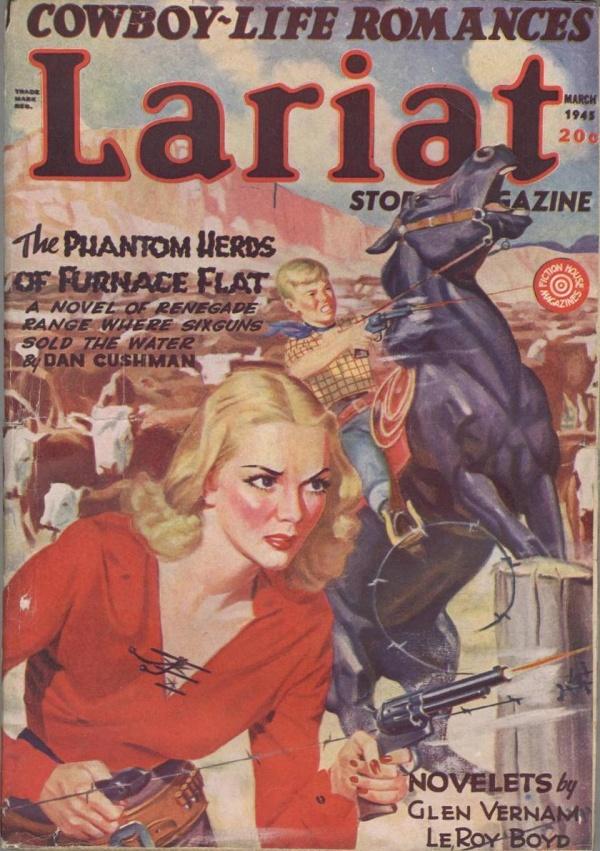 Lariat Story Magazine March 1945