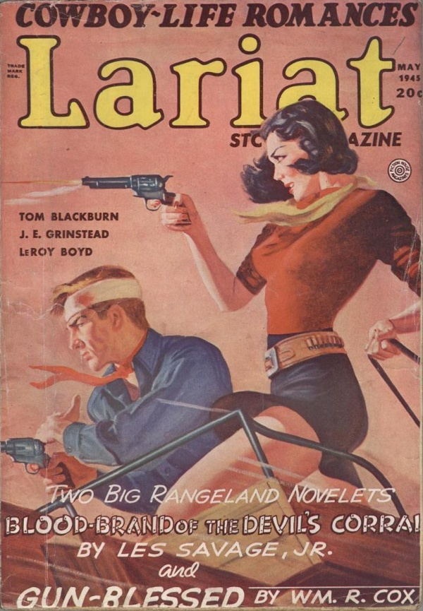 Lariat Story Magazine May 1945