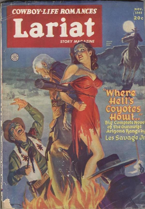 Lariat Story Magazine November 1945