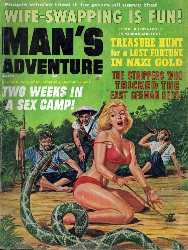 MANS ADVENTURE March 1966 7-6