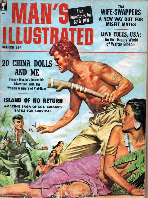 MANS ILLUSTRATED March 1959 4-9