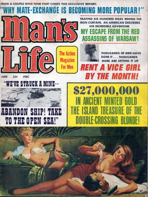MANS LIFE January 1967 10-7
