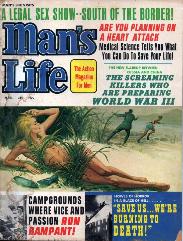 MANS LIFE March 1967 10-9