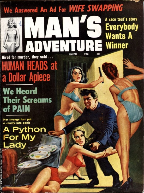 Man's Adventure March 1964