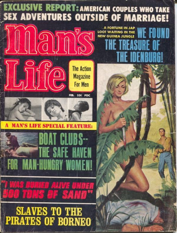 Man's Life February 1967
