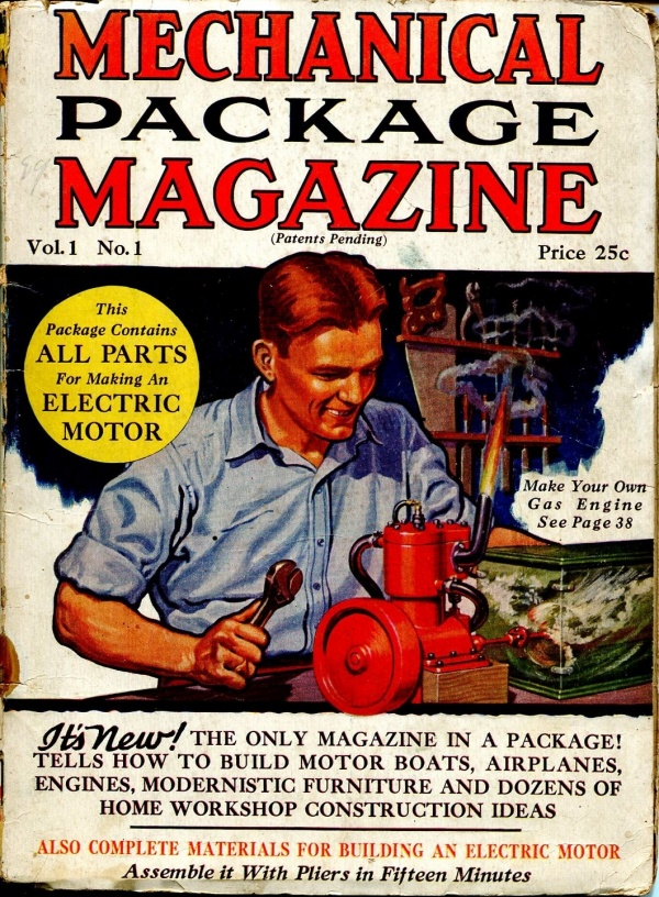 Mechanical Package Magazine Issue #1    1931