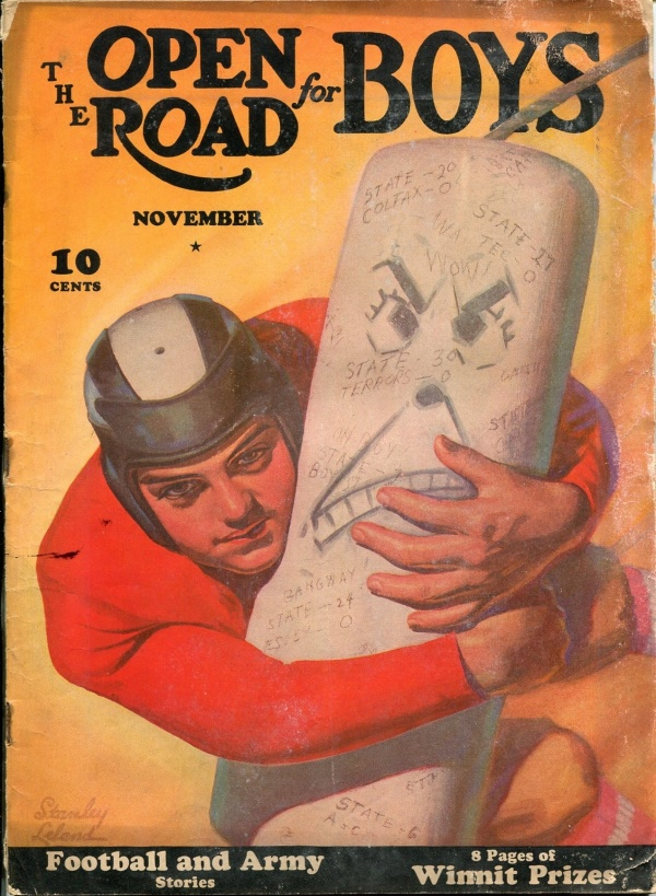 Open Road For Boys November 1940