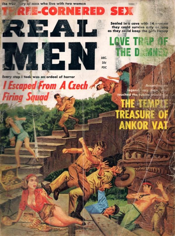 REAL MEN December 1963 (7-12)