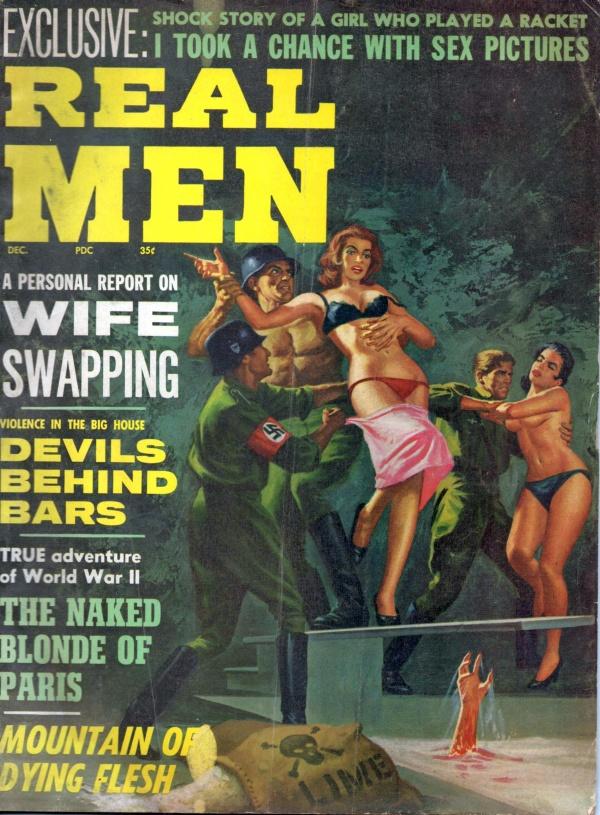 REAL MEN December 1964 8-9