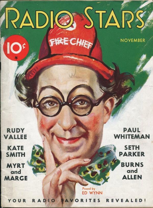 Radio Stars November 1932