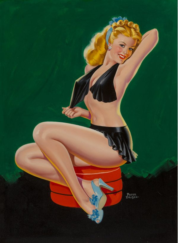 Show Girl, Beauty Parade magazine cover, March 1946