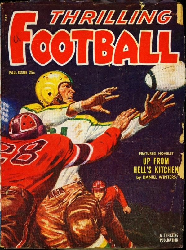 Thrilling Football Fall 1952