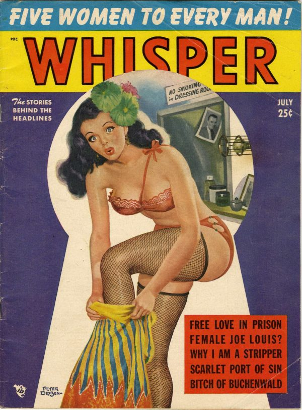 Whisper Magazine July 1951