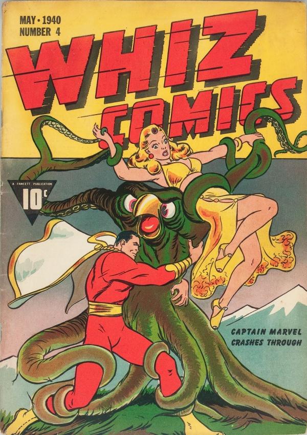 Whiz Comics #4 1940