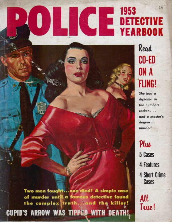 1953 Police Detective Yearbook