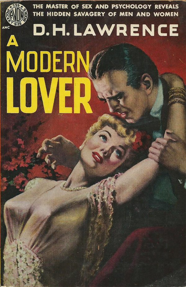 45967911032-d-h-lawrence-a-modern-lover-1951-avon-pocket-size-books-296-cover-art-by-ray-johnson