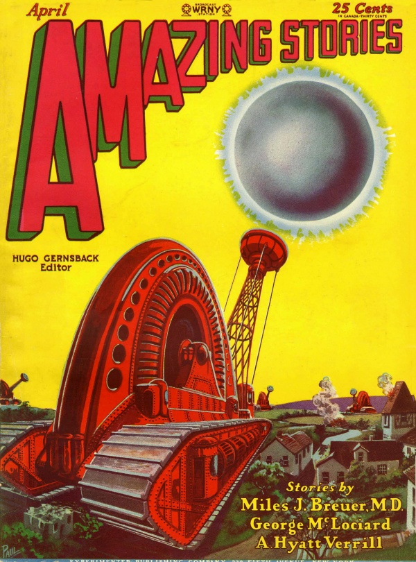 Amazing Stories April 1929