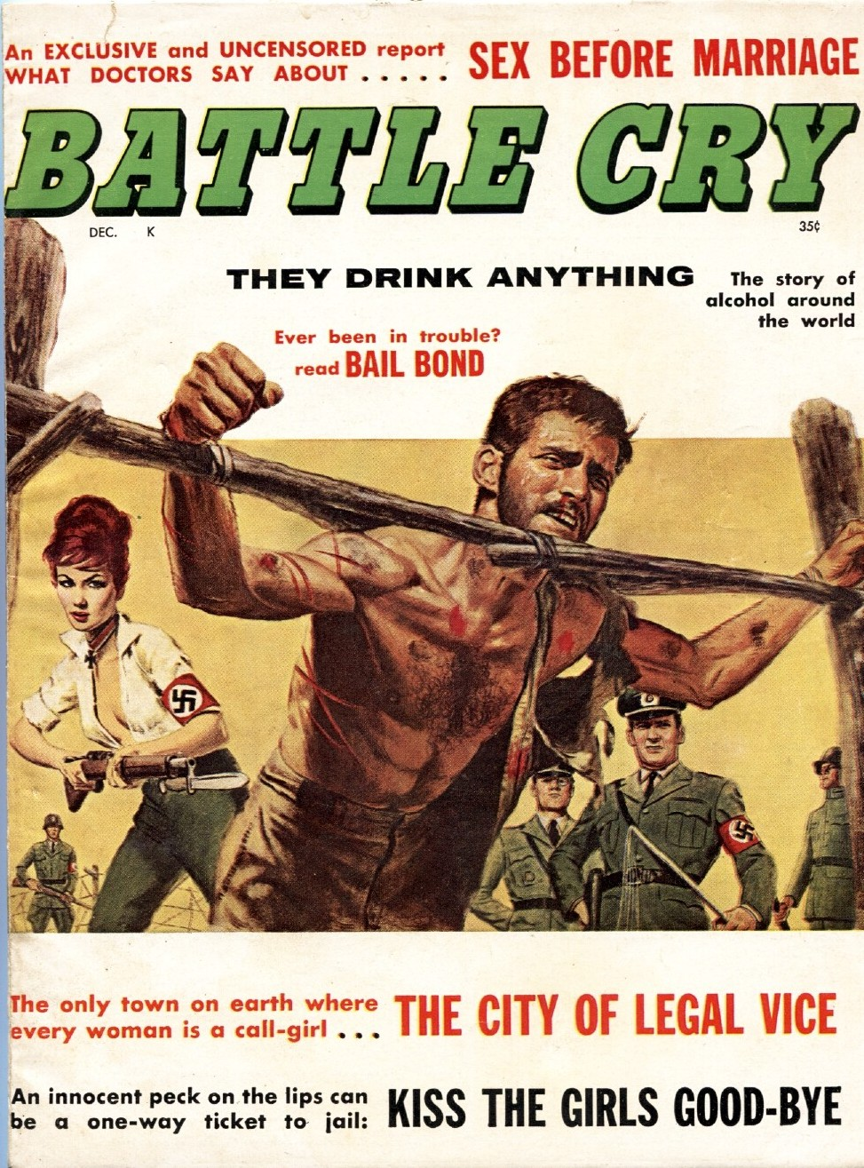 Battle Cry  Pulp Covers-6799