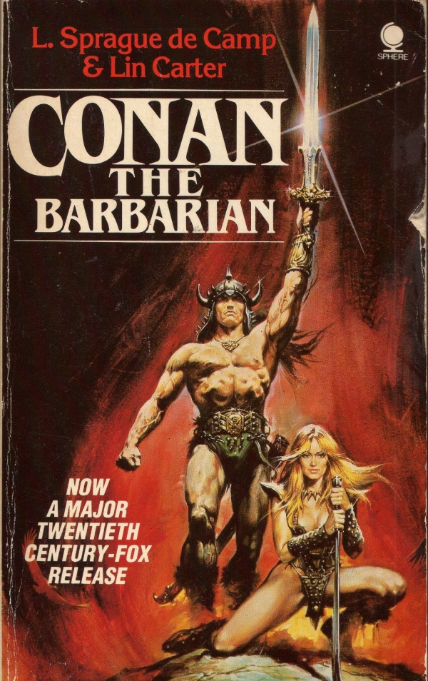 Conan The Barbarian 1988 Sphere Books