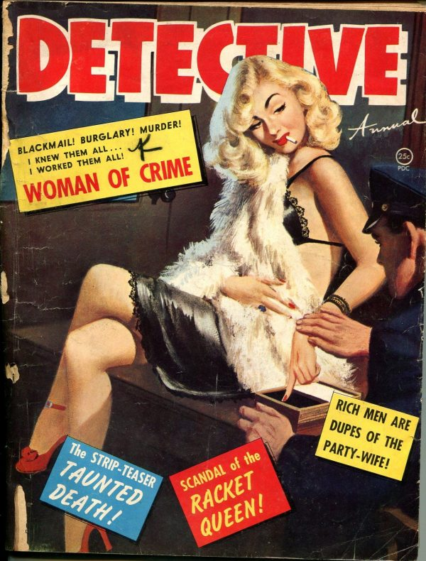 Detective Annual Magazine 1951