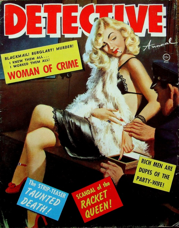 Detective Annual - Woman Of Crime - 1951