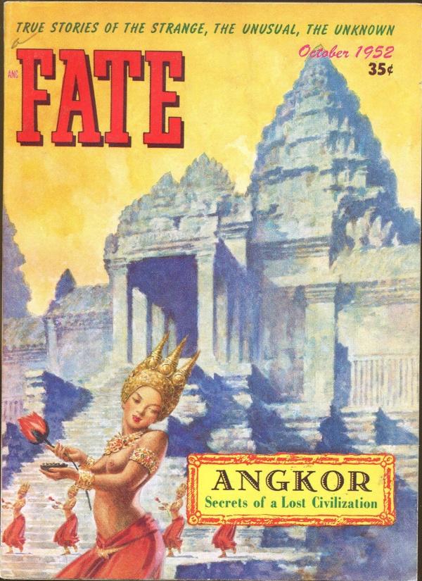 Fate Magazine October, 1952