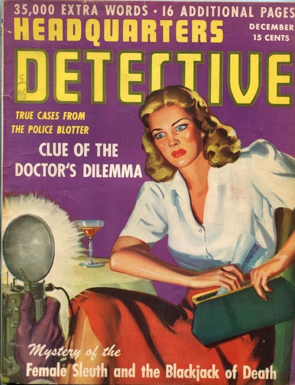 Headquarters Detective December 1943