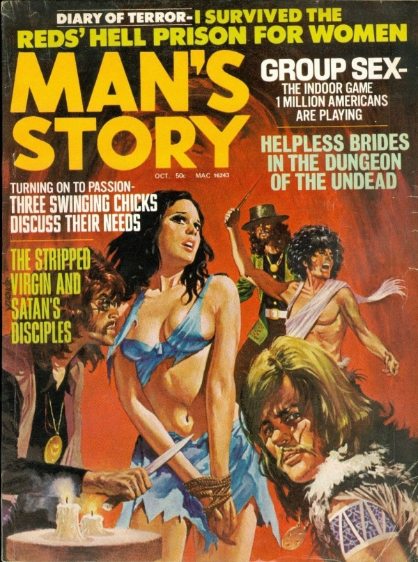 MAN'S STORY, October 1971