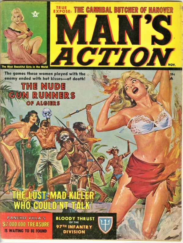 Man's Action Magazine November 1962
