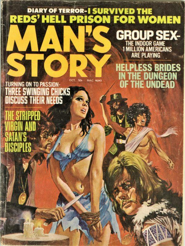 Man's Story Magazine October 1971
