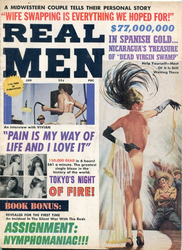 Real Men January 1966