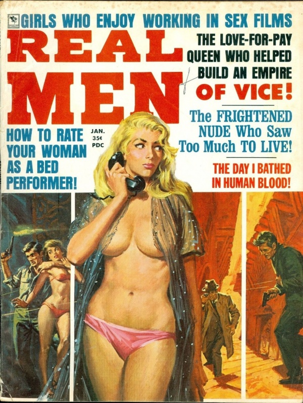 Real Men, January 1969