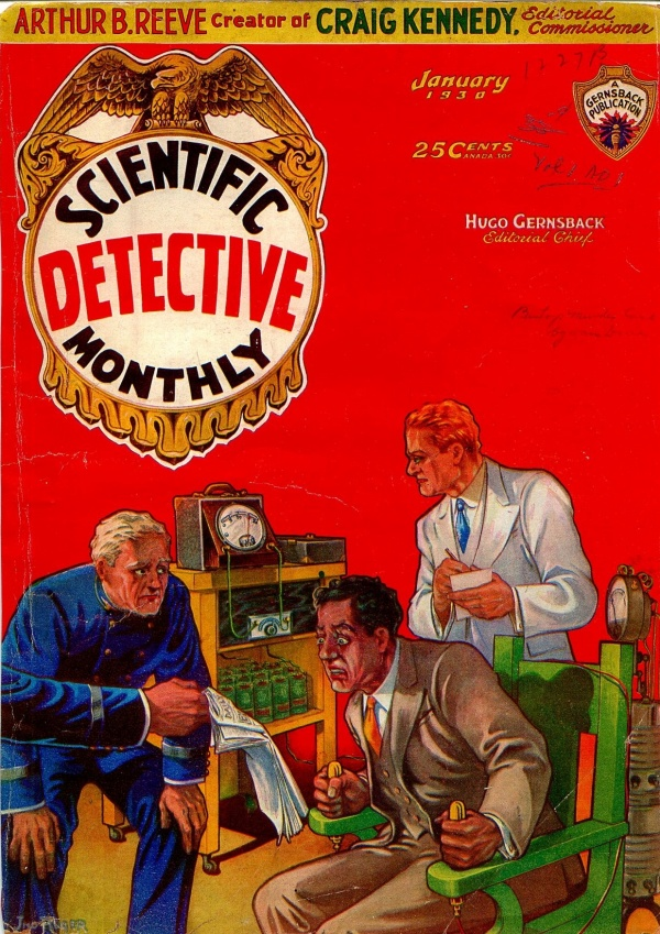 Scientific Detective Monthly January 1930