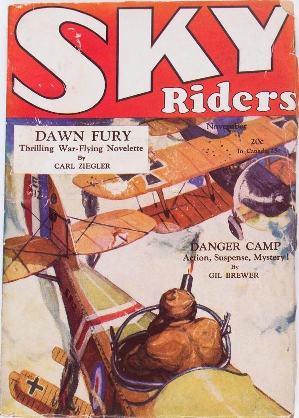 Sky Riders V1#1 November 1928