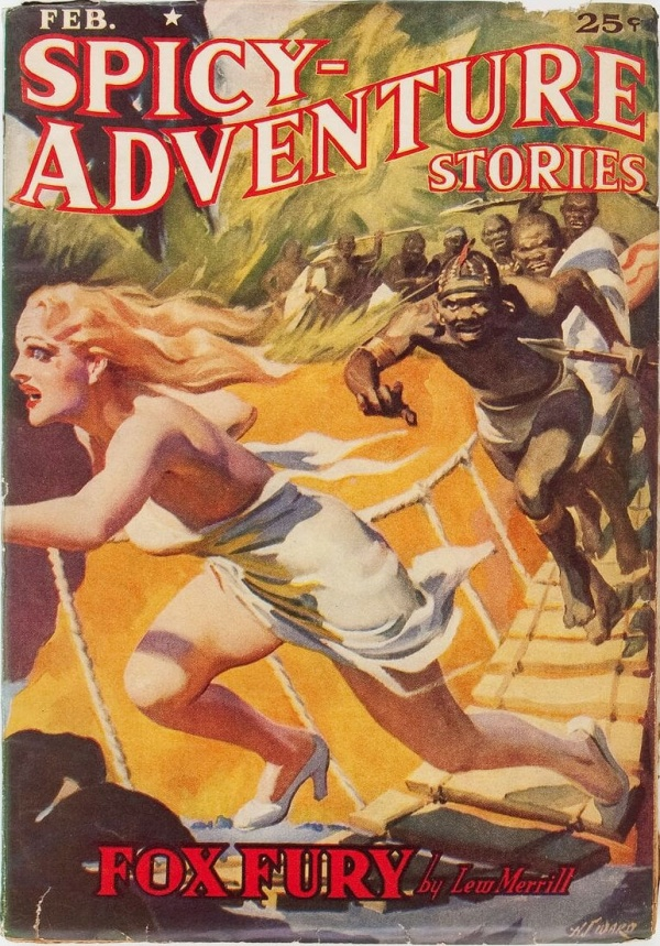 Spicy Adventure Stories - February 1939