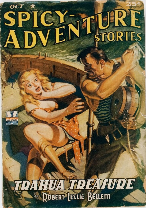 Spicy Adventure Stories - October 1942