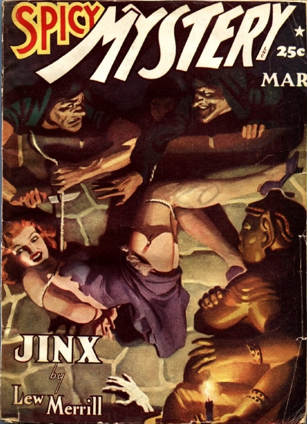 Spicy Mystery Stories March 1942