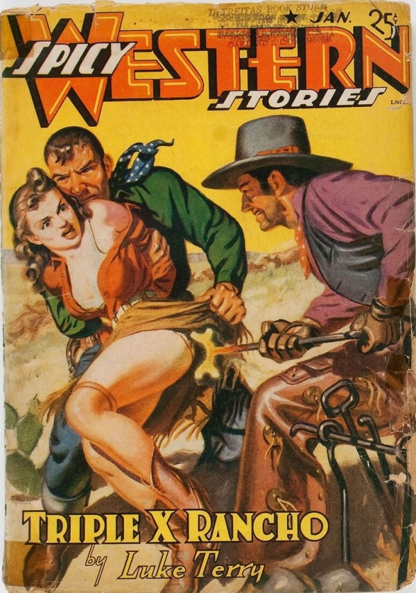 Spicy Western Stories - January 1942